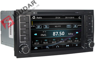 Digital VW Touch Screen Radio , Volkswagen Touareg DVD Gps Navigation Player