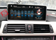 Mirrorlink Android 4.4 Car Dvd Player ، BMW الفئة الأولى Sat Nav System Support IDrive