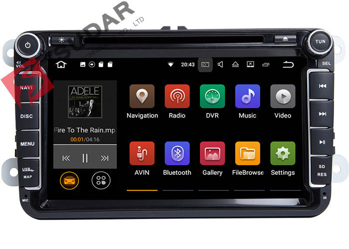 PURE Android 7.1.1 VW Car DVD Player GPS Navigation Screen Mirroring Function