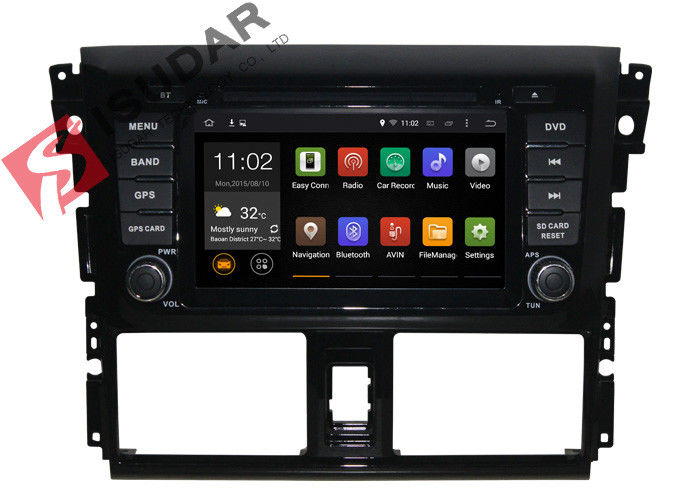 Quad Core 16G ROM Toyota DVD GPS Navigation For Toyota Vois 2013 2014 DVB - T2