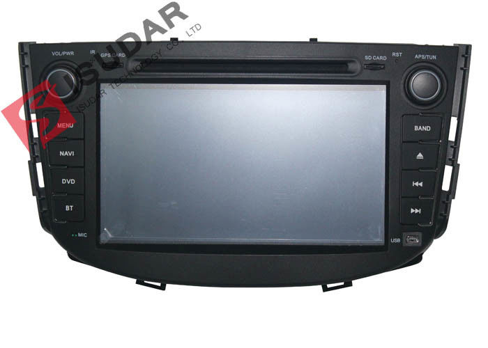 Lifan X60 Bluetooth Navigation Car Stereo DVD Player , Car GPS Media Player With 3G BT Radio
