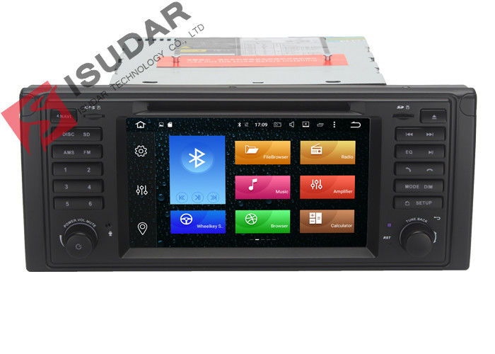 Octa Core Android 6.0 BMW DVD GPS Navigation BMW 5 Series Head Unit 2G RAM 32G ROM
