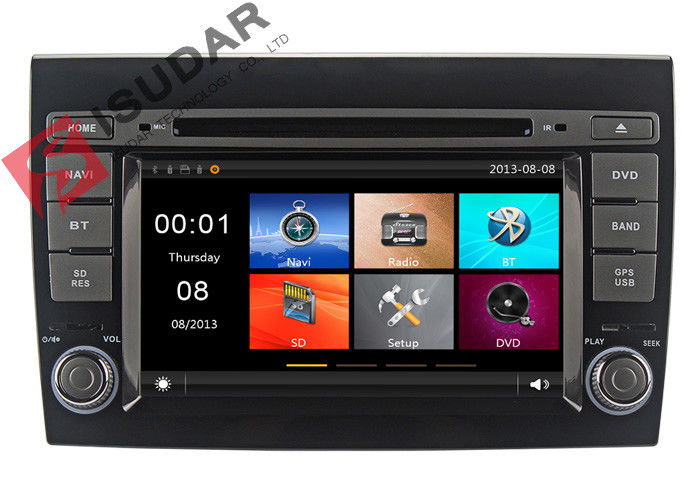 2007 - 2012 Fiat Bravo Car Stereo Multimedia Player System Wince System