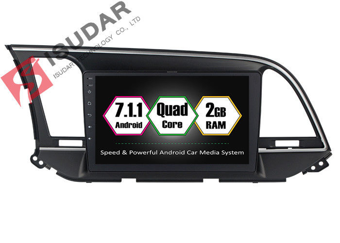 9 Inch All Touch Panel Android Car Entertainment System Car Stereo For Hyundai Elantra  2014